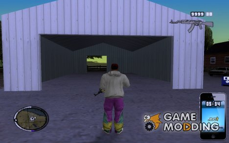 New Hud Iphone for GTA San Andreas