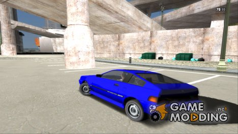 Cars Physics GTA IV Test 1 для GTA San Andreas