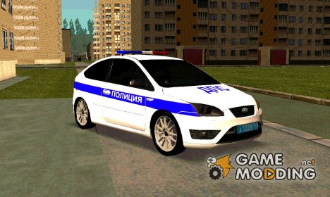Ford Focus II ДПС for GTA San Andreas