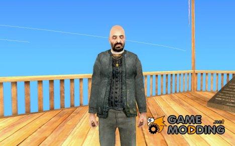 Священник из Half Life 2 for GTA San Andreas