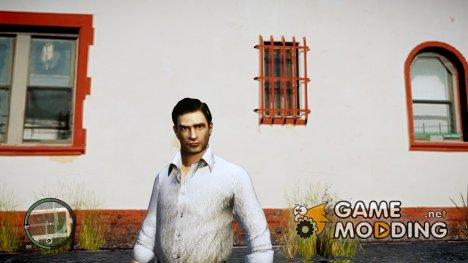 Вито из Mafia II в белой рубашке для GTA 4