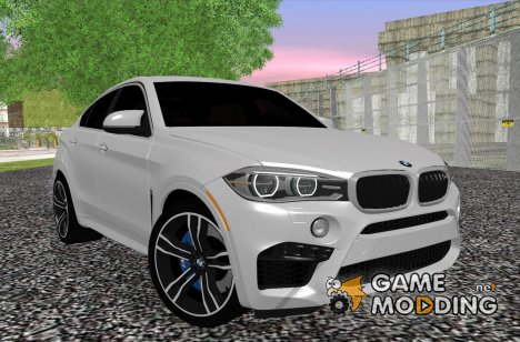 BMW X6M F86 2014 for GTA San Andreas