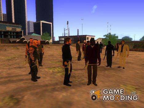 New skins gangs for GTA San Andreas