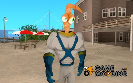 Earthworm Jim for GTA San Andreas