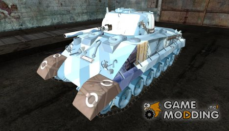 Шкурка для M4A2E4 для World of Tanks
