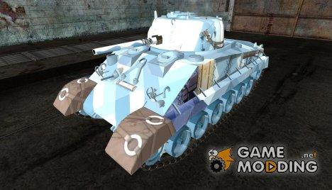 Шкурка для M4A2E4 для World of Tanks