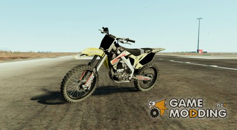 2009 Honda CR450R - Lucas Oil Yellow for GTA 5