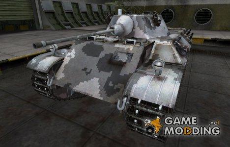 Камуфлированный скин для VK 16.02 Leopard for World of Tanks