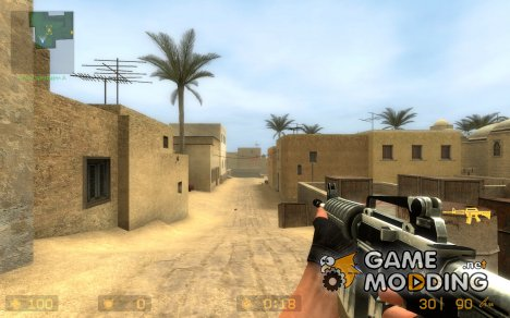 DUAL mag m4a1 (uv) for Counter-Strike Source