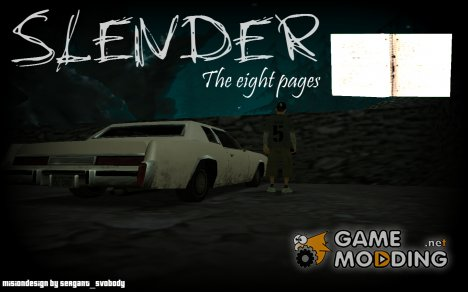 Slender The Eight Pages для GTA San Andreas