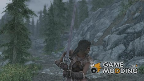 Save the Queen sword для TES V Skyrim