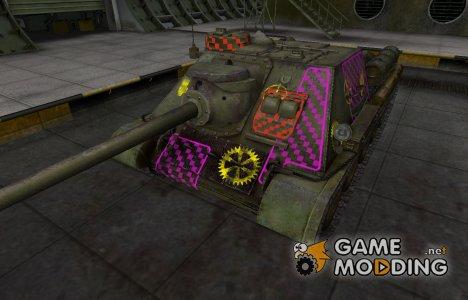 Качественные зоны пробития для СУ-100 for World of Tanks