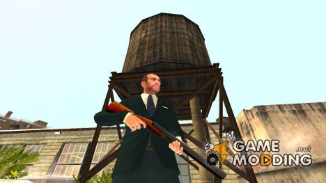 Double Barreled Shotgun для GTA 4