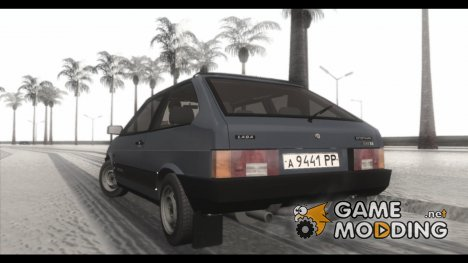 Зимний ENBSeries 4.0 SA-MP Version для GTA San Andreas