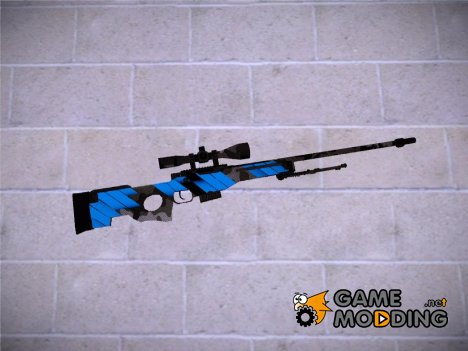 CSGO - AWP Neural Blue for GTA San Andreas