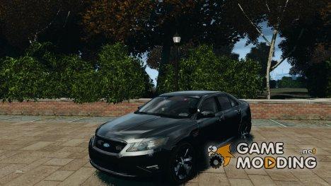 Ford Taurus Police Interceptor Stealth for GTA 4