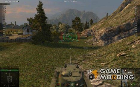 Набор прицелов для WoT с таймером перезарядки for World of Tanks