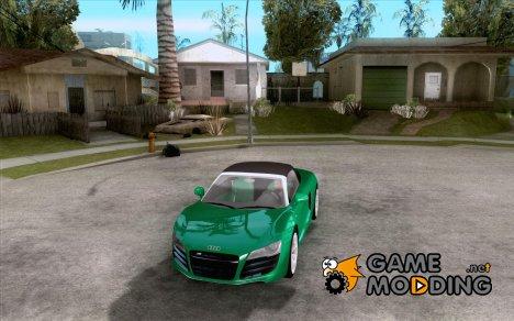 Audi R8 V10 Spyder 5.2. FSI for GTA San Andreas