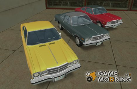 Plymouth Volare 1977 Coupe для GTA Vice City