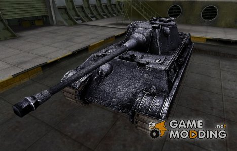 Темный скин для Panther II for World of Tanks