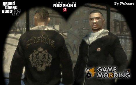"Куртка ""Redskins"" для GTA 4"