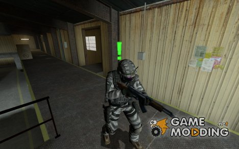 StealthSilver's US ARMY ACU для Counter-Strike Source