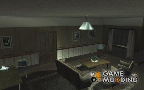 Новый интерьер в доме CJ for GTA San Andreas