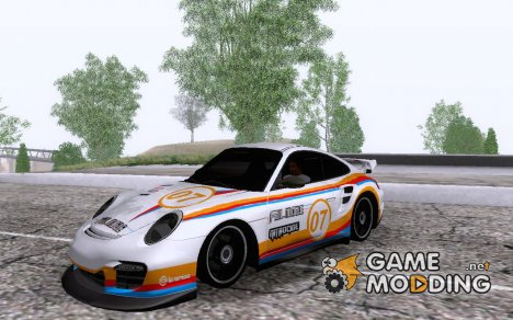 Porsche 997 GT2 Fullmode for GTA San Andreas