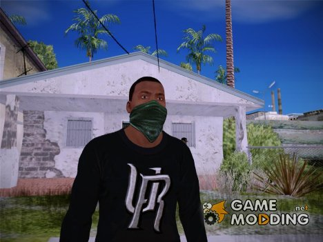 Franklin HD V1 GTA V для GTA San Andreas