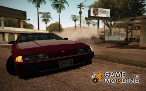 Standart Elegy adapted to IVF для GTA San Andreas