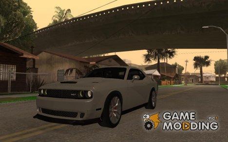 Dodge Challenger SRT Hellcat for GTA San Andreas