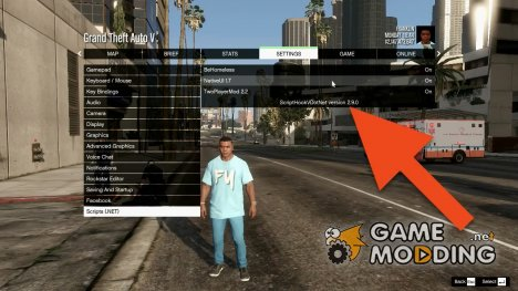 Script Manager 1.1.2 for GTA 5