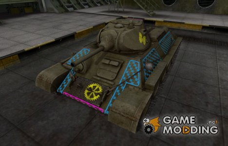 Качественные зоны пробития для T-34 for World of Tanks
