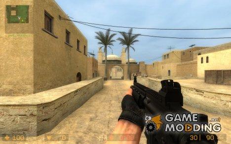 Twinke Masta HK416 for Counter-Strike Source