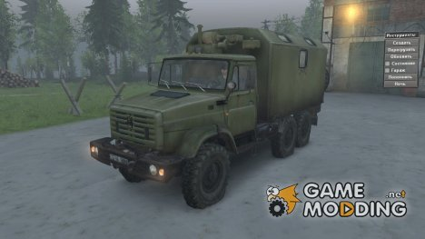 ЗиЛ 4334 for Spintires 2014