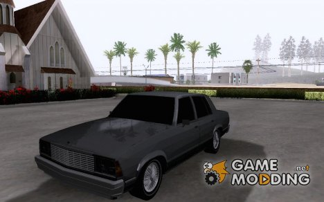 Chevrolet Malibu 1981 for GTA San Andreas