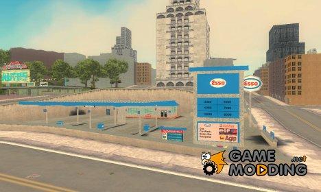Заправка ESSO для GTA 3