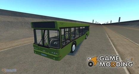 Самотлор-НН-5295 (МАЗ-103.075) зелёный для BeamNG.Drive