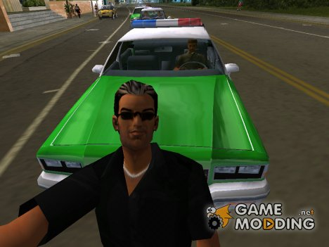 Tommy In Black для GTA Vice City