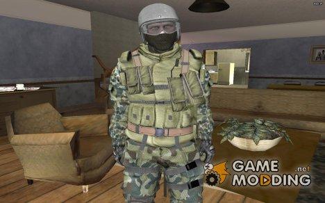 Штурмовик ВСРФ из Bad Company 2. for GTA San Andreas