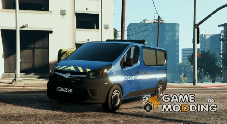 Opel Vivaro Gendarmerie Nationale for GTA 5