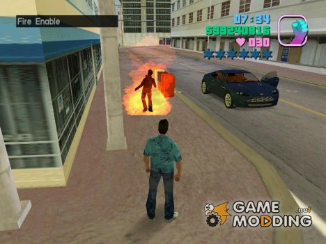 Fire для GTA Vice City