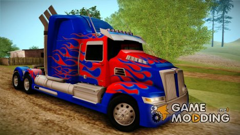 "Western Star ""Optimus Prime"" for GTA San Andreas"