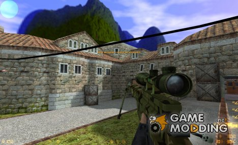 Woodland CheyTac M200 Intervention для Counter-Strike 1.6