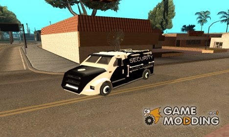 Инопланетный инкассаторский фургон for GTA San Andreas
