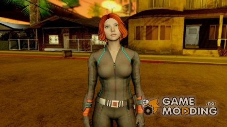Scarlet Johanson Blackwidow (Marvel Heroes) для GTA San Andreas