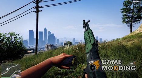 Battlefield 4 AEK-971 for GTA 5