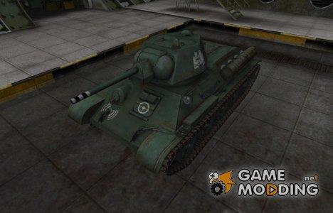 Зоны пробития контурные для Type T-34 for World of Tanks