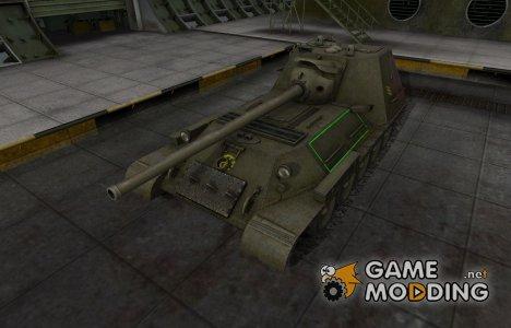 Контурные зоны пробития СУ-100М1 for World of Tanks