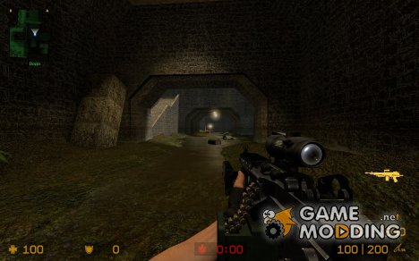 ACOG LAM M249 для Counter-Strike Source